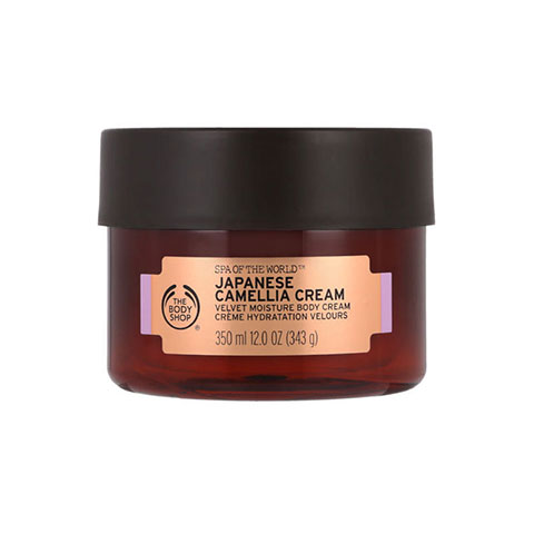 The Body Shop Spa Of The World Japanese Camellia Velvet Moisture Body Cream 350ml