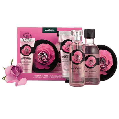 The Body Shop The British Rose Deluxe Collection Set