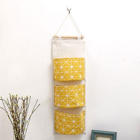 Wall Mounted Hanging Storage Bag