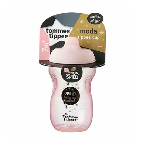 Tommee Tippee Baby Moda Sippee Cup 7m+ 300ml - Pink