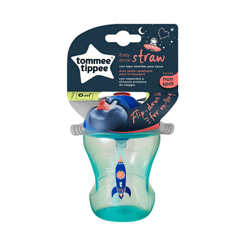 Tommee Tippee Easy Drink Straw Cup 230ml 6m+ - Green