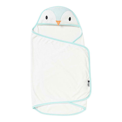 Tommee Tippee Splashtime Swaddle Dry Towel 0-6m - Paste