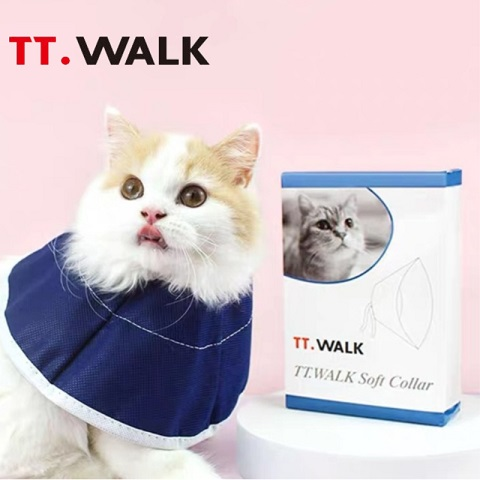 TT. Walk Soft Collar For Cat - Small (20202)