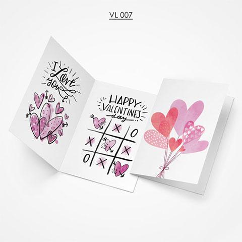 Valentine Gift Card - VL007