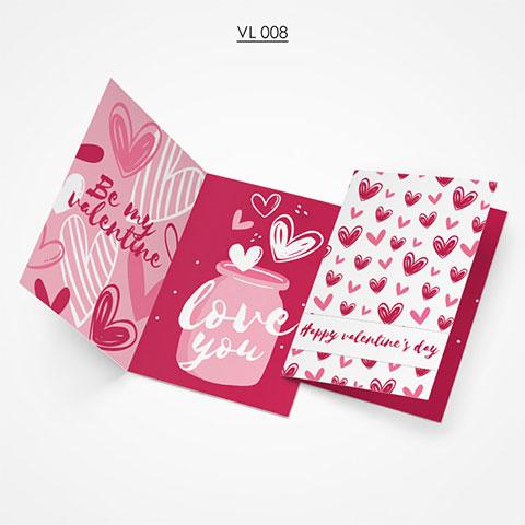 Valentine Gift Card - VL008
