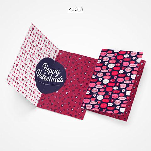 Valentine Gift Card - VL013
