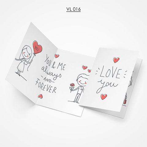 Valentine Gift Card - VL016