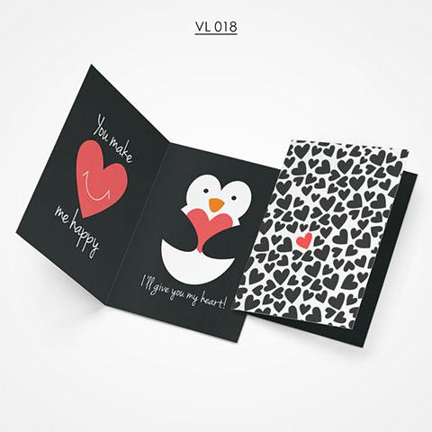 Valentine Gift Card - VL018