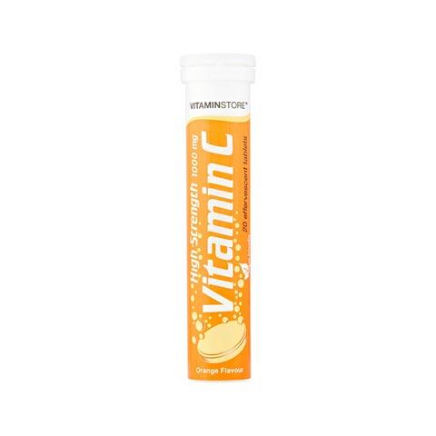 Vitamin Store High Strength Vitamin C Tablets 1000mg - 20 Tablets