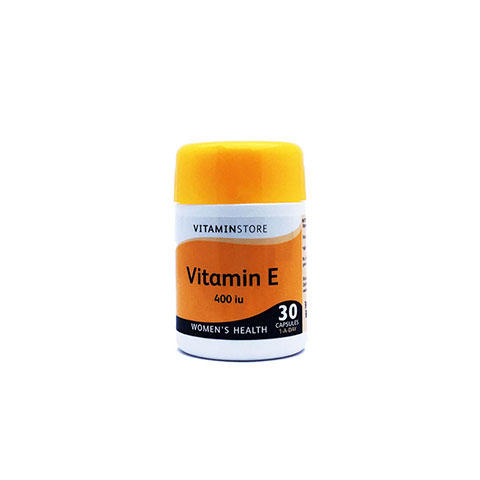 Vitamin Store Vitamin E 400iu Capsules for Women - 30 Capsule