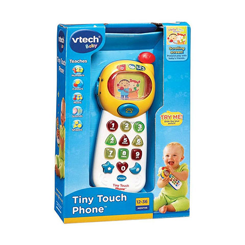 Vtech Baby Tiny Touch Phone 12-36m - (3303)