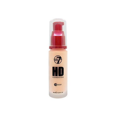 W7 12 Hour HD Foundation 30ml - Butter Cream