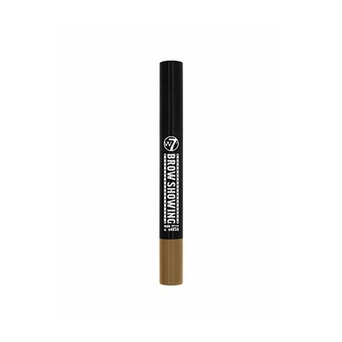 W7 Brow Showing Eyebrow Cream & Brush - Blonde