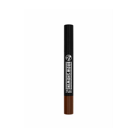W7 Brow Showing Eyebrow Cream & Brush - Dark Brown