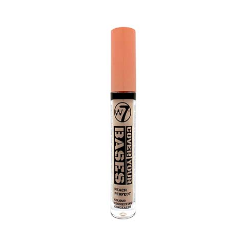 W7 Cover Your Bases Colour Correcting Concealer - Peach Perfect