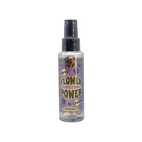 W7 Flower Power Priming & Setting Mist 100ml - Lavender & Vanilla