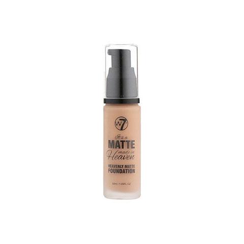 W7 Matte Made In Heaven Foundation 30ml - Early Tan
