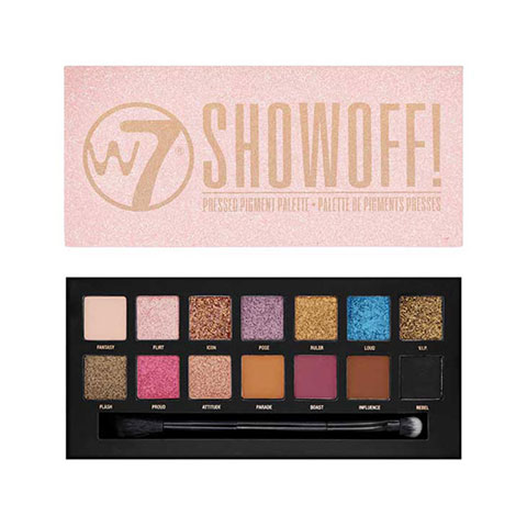 W7 Show Off Pressed Pigments Eyeshadow Palette