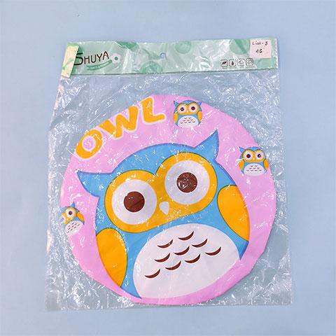 Waterproof Bath Shower Cap - Owl