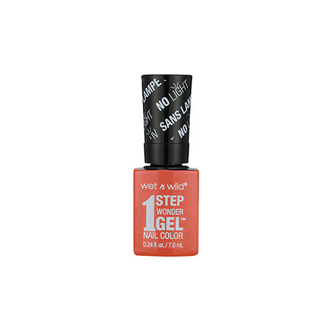 Wet n Wild 1 Step Wonder Gel Nail Color - E7251 Coral Support