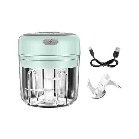 Wireless Portable Electric Food Chopper - Green (1001083)