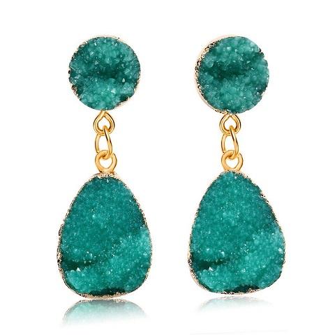 Women's Druzy Stone Earrings (20157)