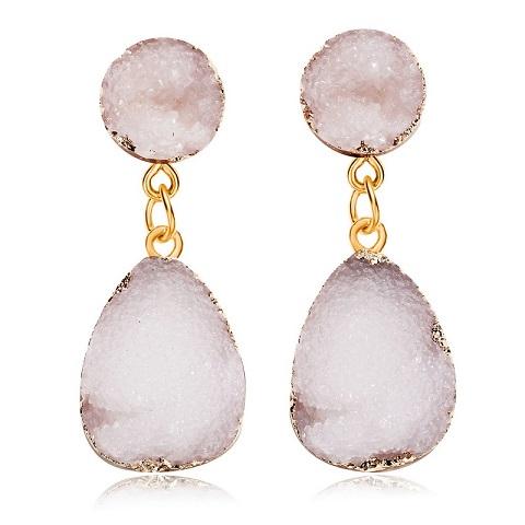 Women's Druzy Stone Earrings