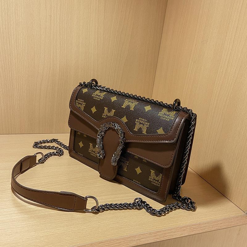 Women's Trendy Roman Bacchus Style Shoulder Bag (1001042)